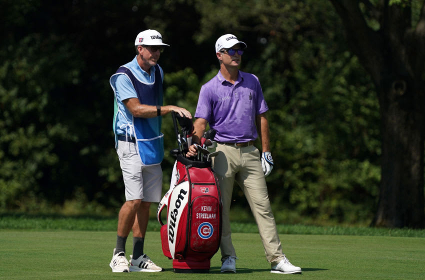 Former Duke golf standout Kevin Streelman at the BMW Championship. (Photo by Stacy Revere/Getty Images)