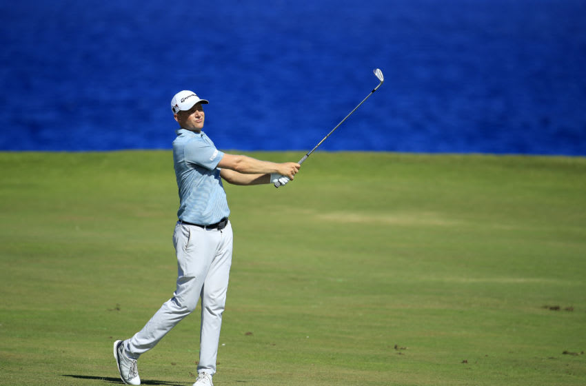 Former Duke golf standout Adam Long (Photo by Andy Lyons/Getty Images)