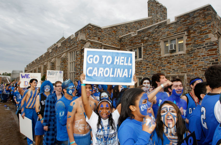 Duke basketball fans (Photo by Streeter Lecka/Getty Images)
