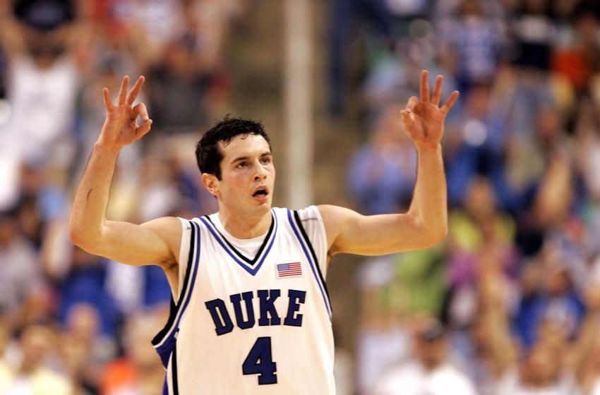 Duke basketball guard JJ Redick (Photo by Streeter Lecka/Getty Images)