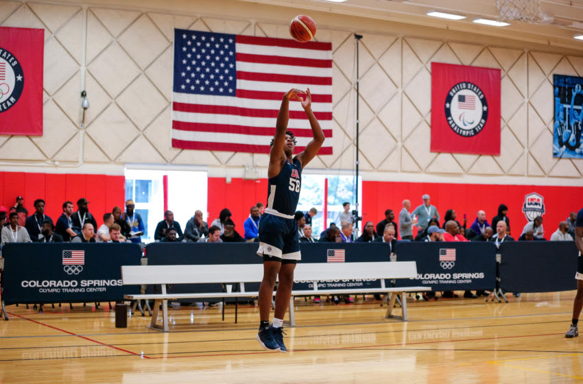 Potential Duke basketball recruit MJ Rice (Isaiah J. Downing-USA TODAY Sports)
