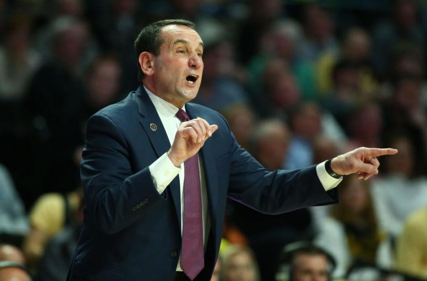 Duke basketball head coach Mike Krzyzewski (Jeremy Brevard-USA TODAY Sports)