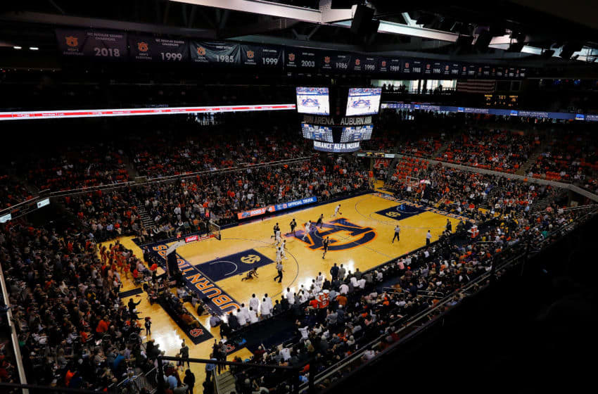 AUBURN, ALABAMA - DECEMBER 22: A general view of Auburn Arena during the game between the Auburn Tigers and the Murray State Racers on December 22, 2018 in Auburn, Alabama. (Photo by Kevin C. Cox/Getty Images)