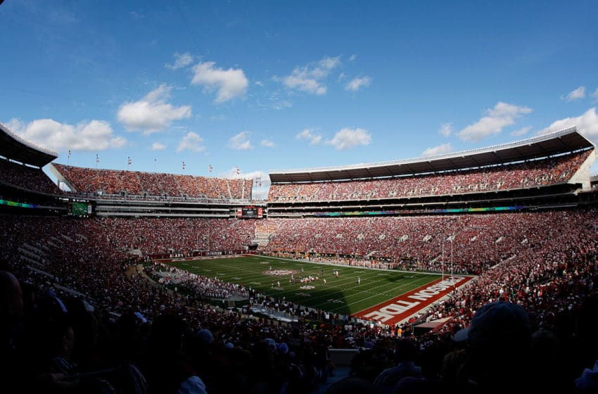 TUSCALOOSA, AL - OCTOBER 24: A general view of Bryant-Denny Stadium during the game between the Alabama Crimson Tide and the Tennessee Volunteers at on October 24, 2009 in Tuscaloosa, Alabama. (Photo by Kevin C. Cox/Getty Images)