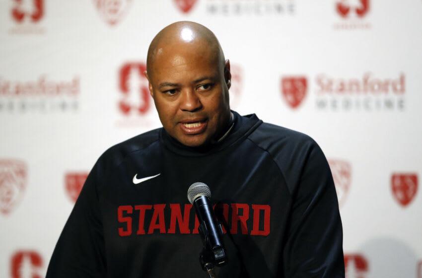 Stanford Cardinal head coach David Shaw Credit: Darren Yamashita-USA TODAY Sports