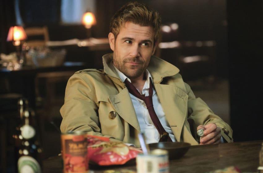 Matt Ryan as Constantine in DC's Legends of Tomorrow --