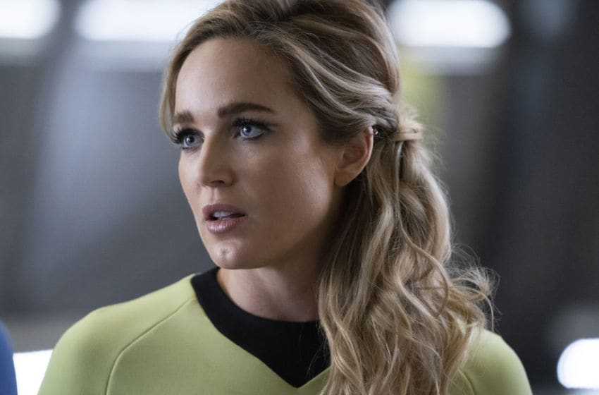 Caity Lotz as Sara Lance/White Canary in DC's Legends of Tomorrow --