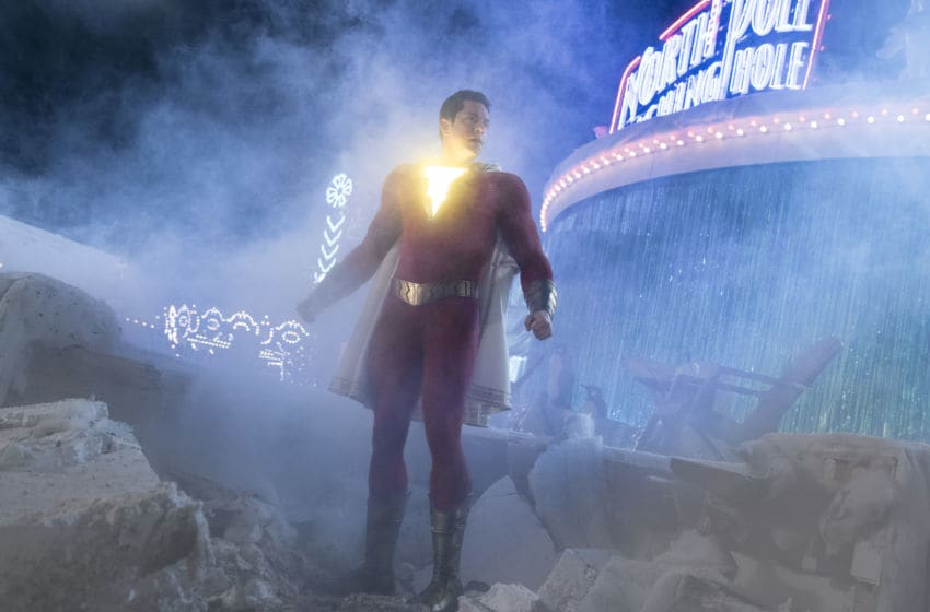 "ZACHARY LEVI as Shazam in New Line Cinema's action adventure ""SHAZAM!,"" a Warner Bros. Pictures release. Photo Credit: Courtesy of Warner Bros. Pictures"