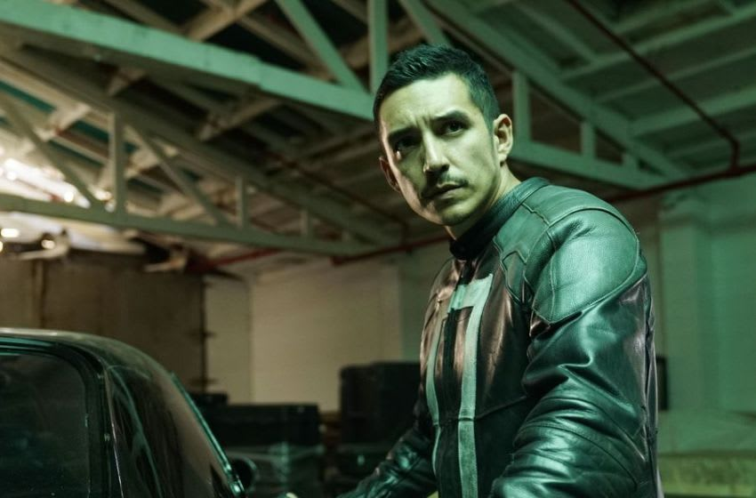 Gabriel Luna as Robbie Reyes aka Ghost Rider in MARVEL'S AGENTS OF S.H.I.E.L.D. (ABC)
