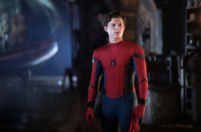 Tom Holland in SPIDER-MAN: ™ FAR FROM HOME