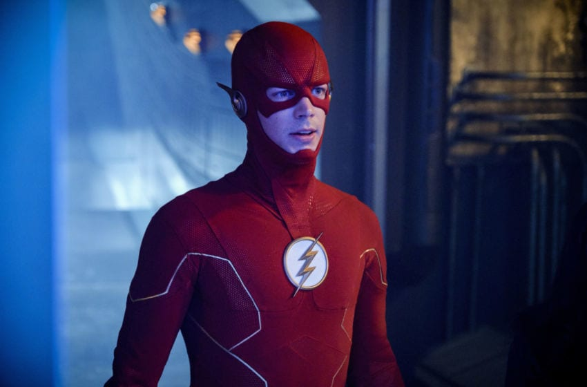 Grant Gustin as The Flash in The Flash --