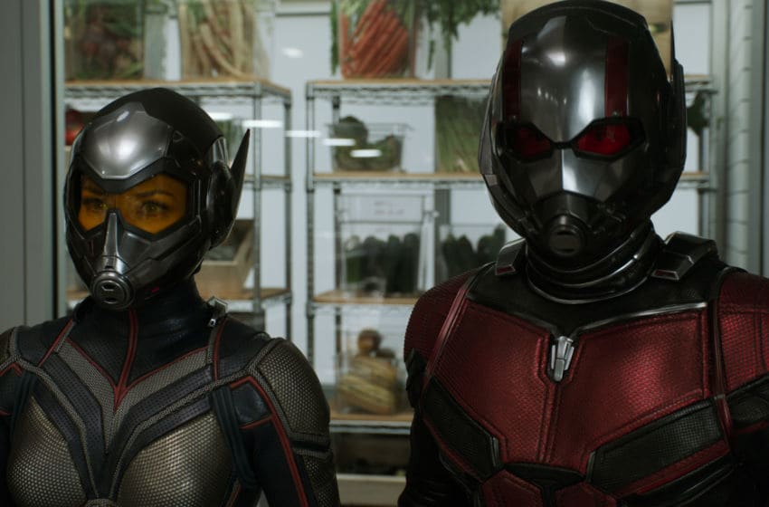 Marvel Studios ANT-MAN AND THE WASP..L to R: Wasp/Hope van Dyne (Evangeline Lilly) and Ant-Man/Scott Lang (Paul Rudd)..Photo: Film Frame..©Marvel Studios 2018
