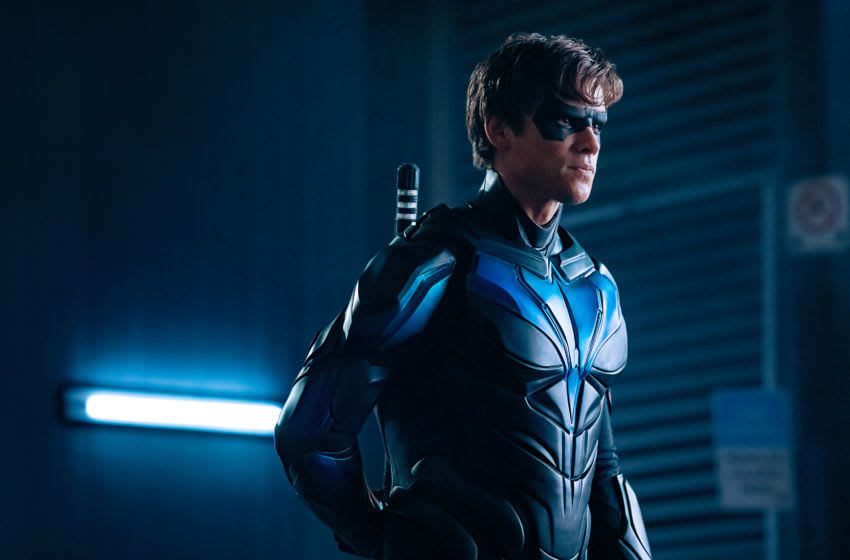 Brenton Thwaites as Dick Grayson/Nightwing in Titans -- Ep. 213 --