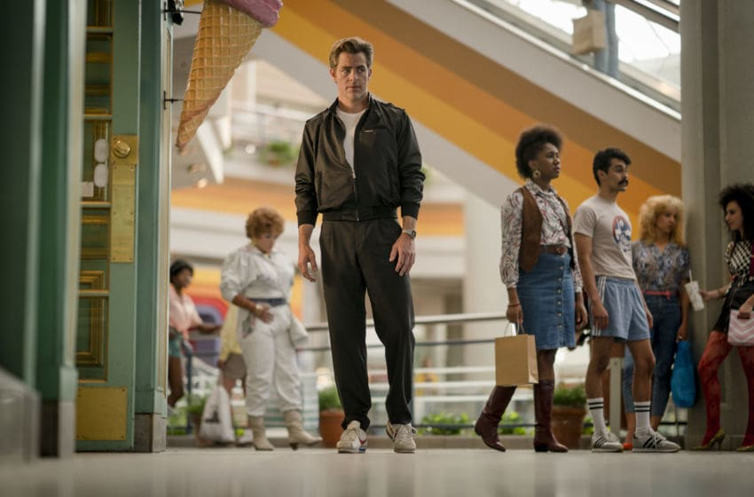 """CHRIS PINE as Steve Trevor in the action adventure """"WONDER WOMAN 1984,"""" a Warner Bros. Pictures release.. Photo Credit: Clay Enos/ ™ & © DC Comics"""
