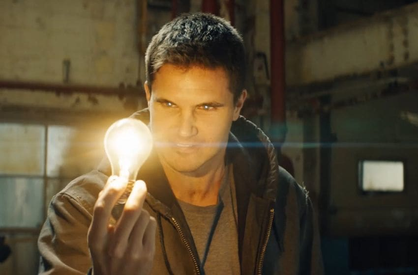 Photo: Robbie Amell in Code 8.. Image Courtesy Vertical Entertainment