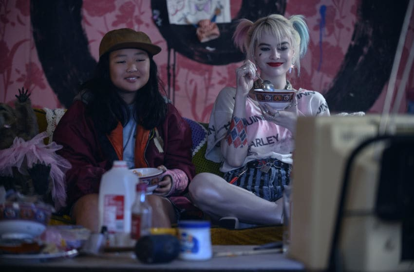"(L-r) MARGOT ROBBIE as Harley Quinn and ELLA JAY BASCO as Cassandra Cain in Warner Bros. Pictures' ""BIRDS OF PREY (AND THE FANTABULOUS EMANCIPATION OF ONE HARLEY QUINN),"" a Warner Bros. Pictures release.. Claudette Barius/ & © DC Comics"