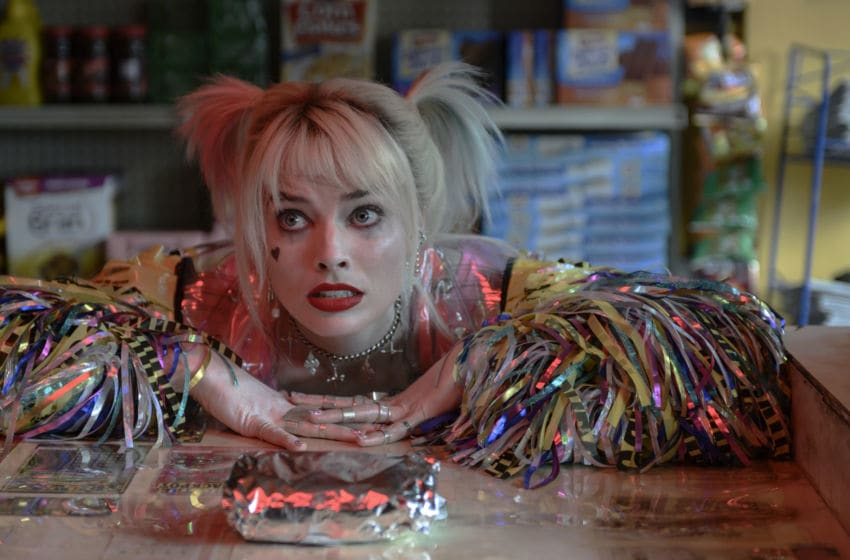 """MARGOT ROBBIE as Harley Quinn in Warner Bros. Pictures' """"BIRDS OF PREY (AND THE FANTABULOUS EMANCIPATION OF ONE HARLEY QUINN),"""" a Warner Bros. Pictures release.. Courtesy of Warner Bros. Pictures/ & © DC Comic"""