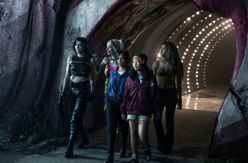 "(L-r) MARY ELIZABETH WINSTEAD as Huntress, MARGOT ROBBIE as Harley Quinn, ROSIE PEREZ as Renee Montoya, ELLA JAY BASCO as Cassandra Cain and JURNEE SMOLLETT-BELL as Black Canary in Warner Bros. Pictures' ""BIRDS OF PREY (AND THE FANTABULOUS EMANCIPATION OF ONE HARLEY QUINN),"" a Warner Bros. Pictures release.. Claudette Barius/ & © DC Comics"