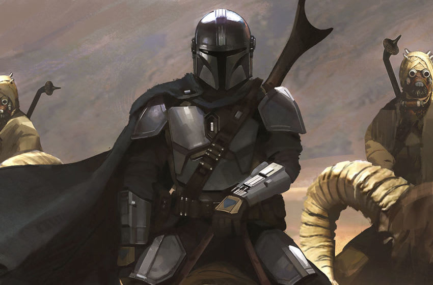 The Mandalorian season two chapter nine concept art by Brian Matyas and Doug Chiang. © 2020 Lucasfilm Ltd. & ™. All Rights Reserved