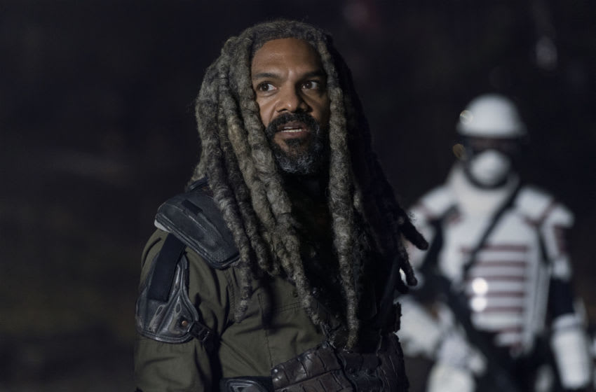 Khary Payton as Ezekiel - The Walking Dead _ Season 10, Episode 20 - Photo Credit: Josh Stringer / AMC