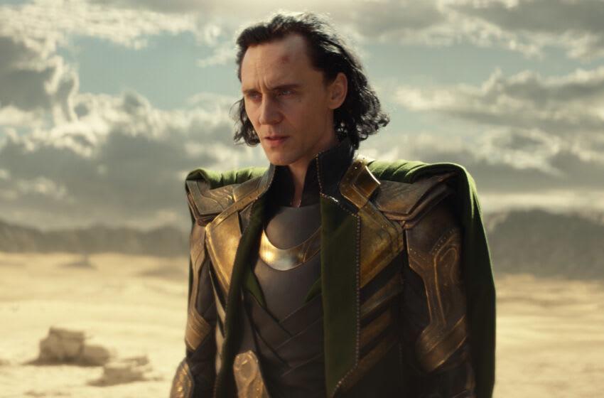 Loki (Tom Hiddleston) in Marvel Studios' LOKI, exclusively on Disney+. Photo courtesy of Marvel Studios. ©Marvel Studios 2021. All Rights Reserved.