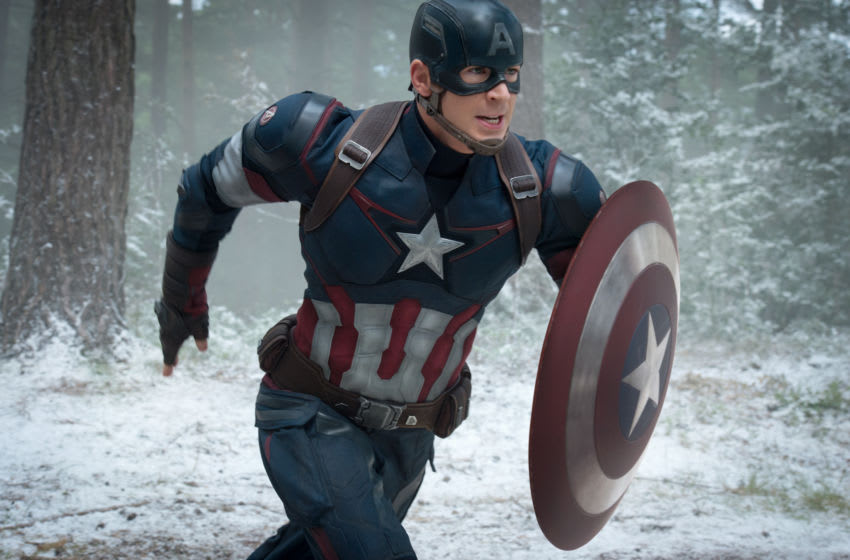 Marvel's Avengers: Age Of Ultron..Captain America/Steve Rogers (Chris Evans) ..Ph: Jay Maidment..©Marvel 2015