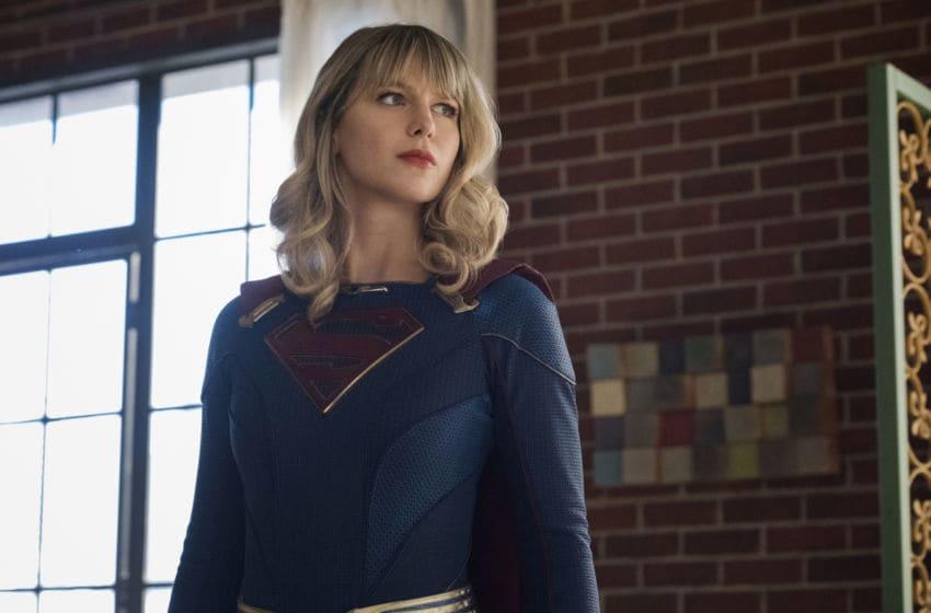 Melissa Benoist as Supergirl/Kara Danvers in Supergirl season 5, episode 19