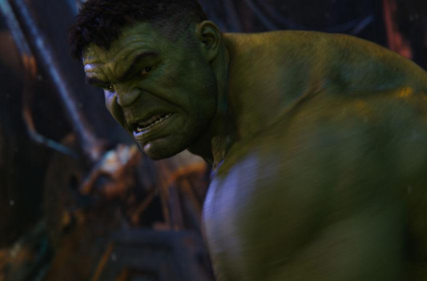 Marvel Studios' AVENGERS: INFINITY WAR Hulk (Mark Ruffalo) Photo: Film Frame ©Marvel Studios 2018