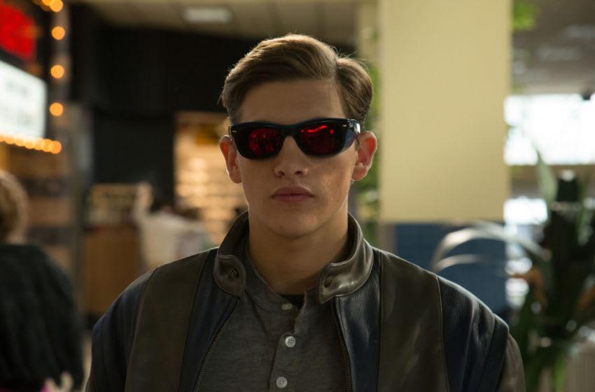 DF-00100 – Tye Sheridan is Scott Summers/Cyclops in X-MEN: APOCALYPSE. Photo Credit: Alan Markfield.