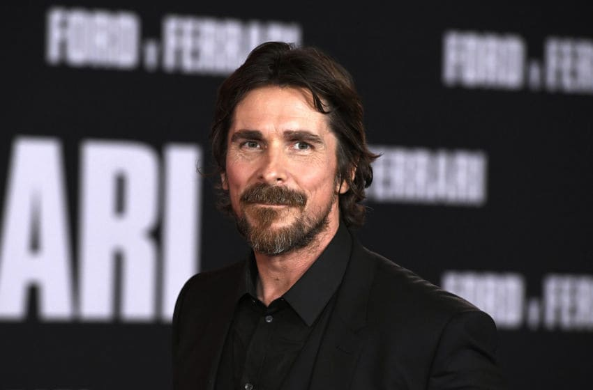 HOLLYWOOD, CALIFORNIA - NOVEMBER 04: Christian Bale attends the Premiere Of FOX's