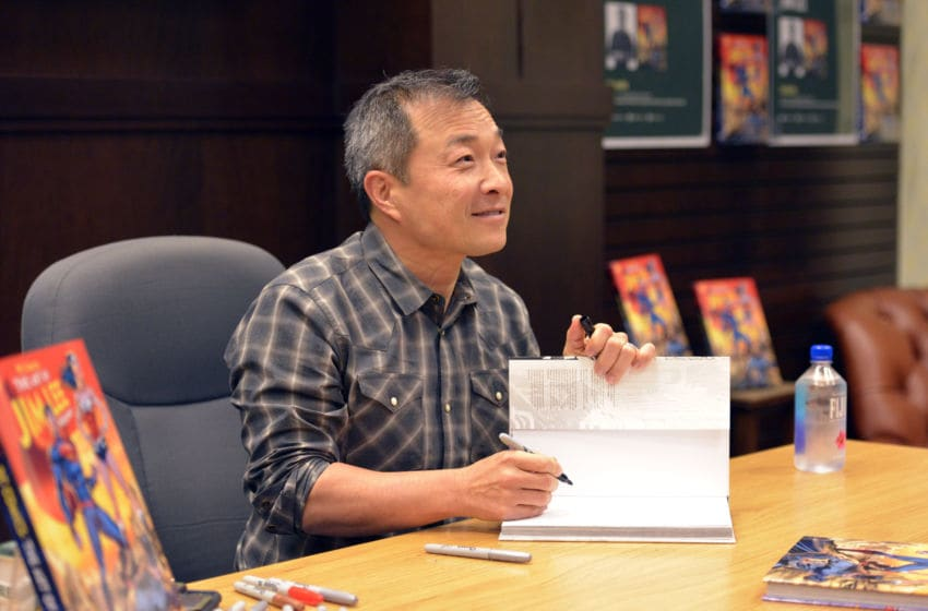 LOS ANGELES, CALIFORNIA - DECEMBER 19: DC Comics publisher Jim Lee attends a signing event for his book