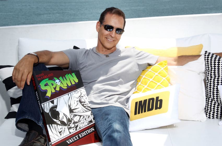 SAN DIEGO, CA - JULY 21: Comic book artist Todd McFarlane on the #IMDboat at San Diego Comic-Con 2017 at The IMDb Yacht on July 21, 2017 in San Diego, California. (Photo by Tommaso Boddi/Getty Images for IMDb)