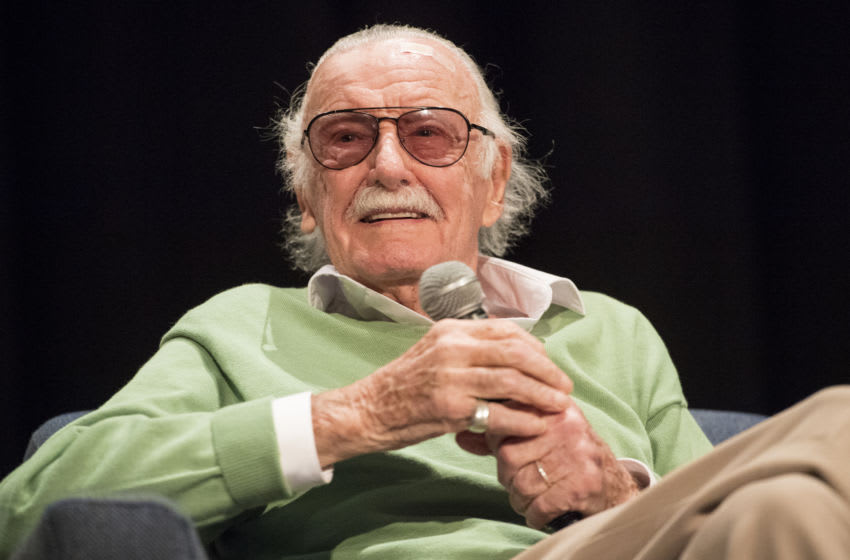 NEW ORLEANS, LA - JANUARY 06: Stan Lee participates in a Q&A during Wizard World Comic Con at Ernest N. Morial Convention Center on January 6, 2018 in New Orleans, Louisiana. (Photo by Erika Goldring/Getty Images)