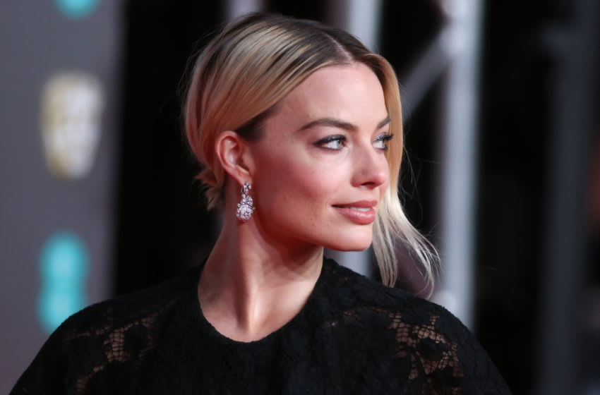 LONDON, ENGLAND - FEBRUARY 02: Margot Robbie attends the EE British Academy Film Awards 2020 at Royal Albert Hall on February 02, 2020 in London, England. (Photo by Lia Toby/Getty Images)