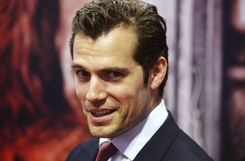 LONDON, ENGLAND - MAY 25: Henry Cavill attends a special screening of