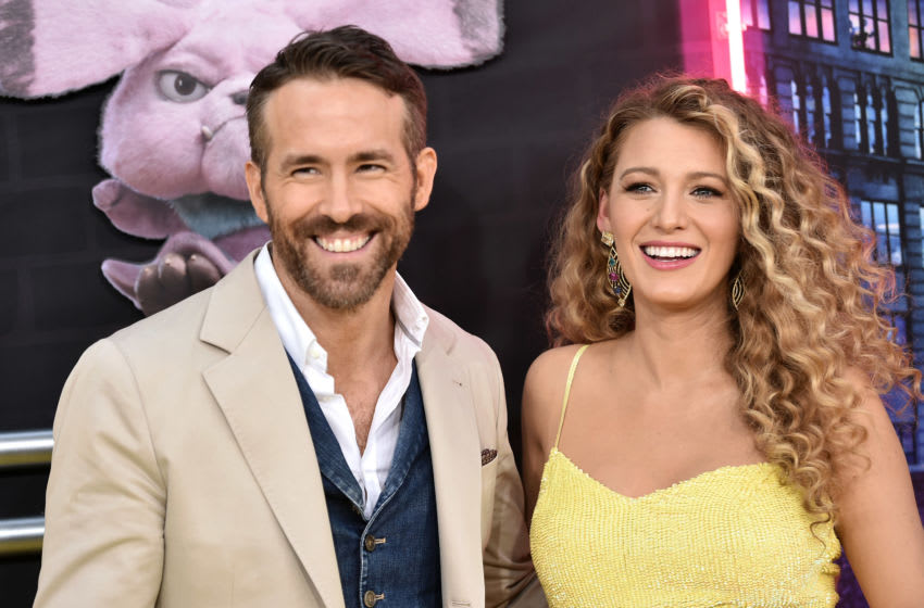 NEW YORK, NY - MAY 02: Ryan Reynolds and Blake Lively attend the premiere of