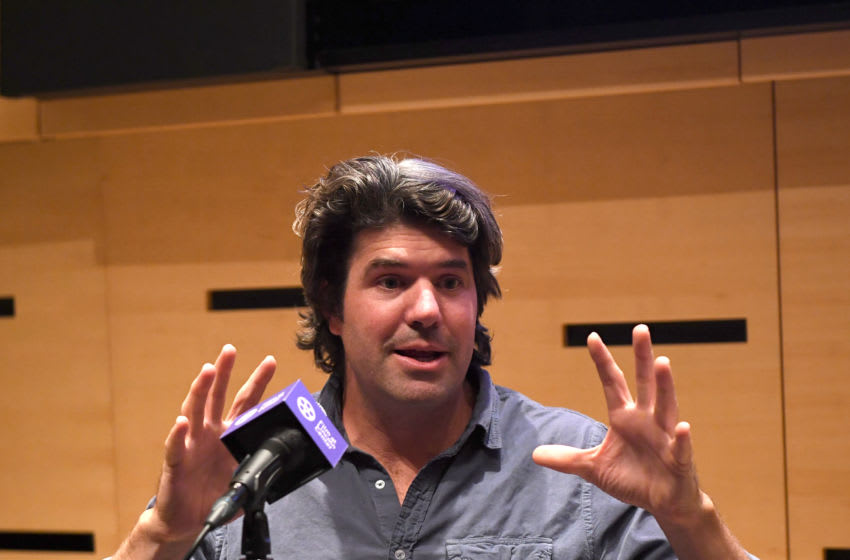 NEW YORK, NEW YORK - OCTOBER 07: J.C. Chandor attends 57th New York Film Festival - NYFF Live: WGA Talk at Elinor Bunin Munroe Film Center on October 07, 2019 in New York City. (Photo by Dimitrios Kambouris/Getty Images)