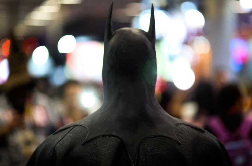 SAO PAULO, BRAZIL - DECEMBER 05: A Batman cosplayer poses for a photo during CCXP 2019 Sao Paulo at Sao Paulo Expo on December 05, 2019 in Sao Paulo, Brazil. (Photo by Alexandre Schneider/Getty Images)