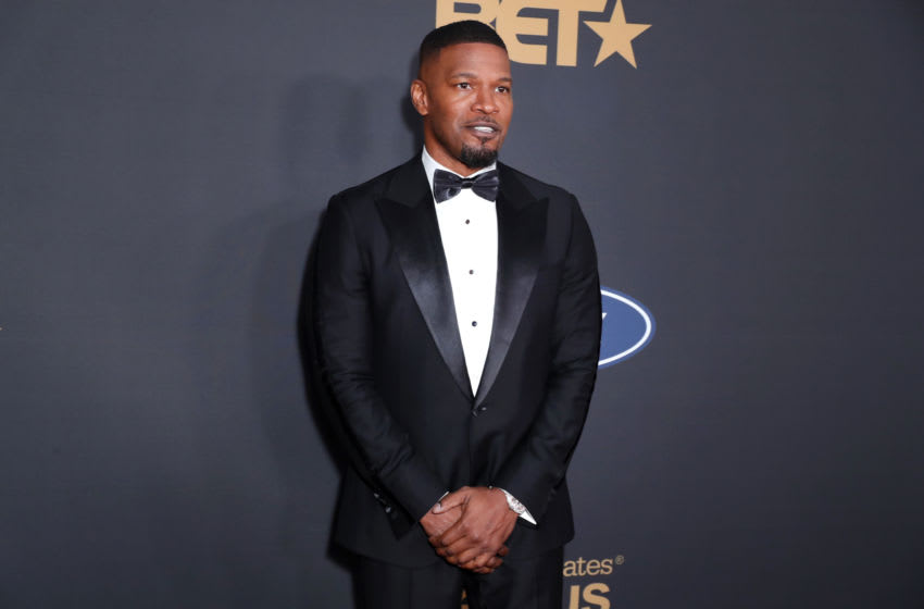 PASADENA, CALIFORNIA - FEBRUARY 22: Jamie Foxx attends the 51st NAACP Image Awards, Presented by BET, at Pasadena Civic Auditorium on February 22, 2020 in Pasadena, California. (Photo by Leon Bennett/Getty Images for BET)