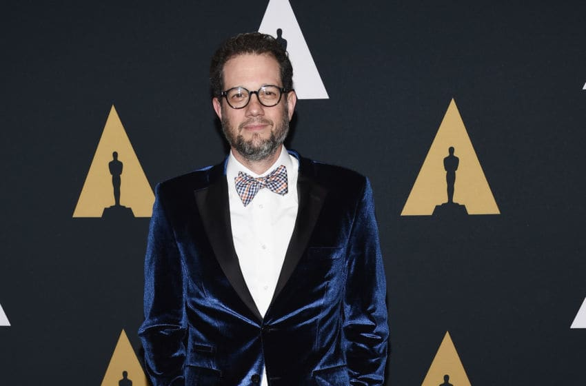BEVERLY HILLS, CA - JUNE 20: Composer Michael Giacchino arrives at The Academy Of Motion Picture Arts And Sciences presentation of