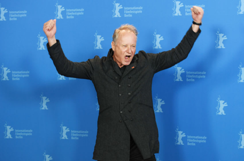 BERLIN, GERMANY - FEBRUARY 09: Stellan Skarsgard poses at the