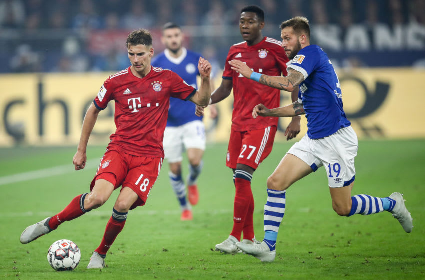 Pokalspiel Schalke Bayern
