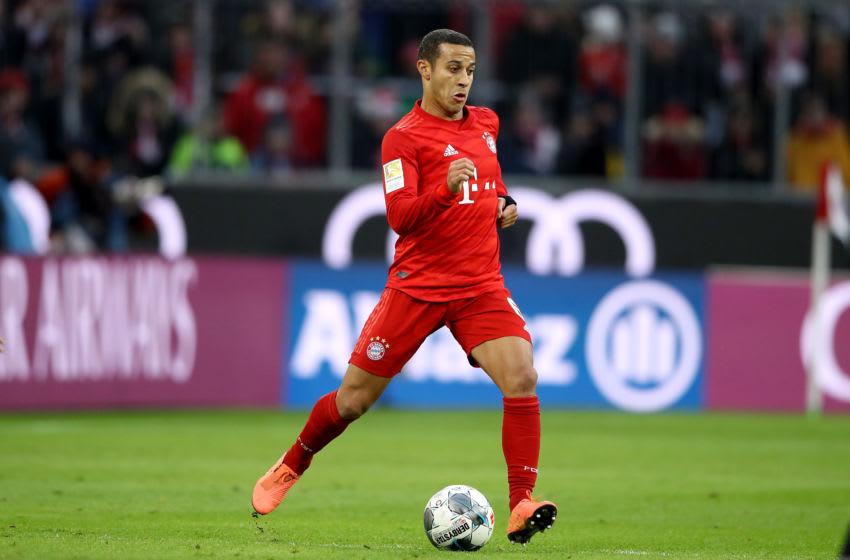 Thiago Alcantara, Bayern Munich. (Photo by Alexander Hassenstein/Bongarts/Getty Images)
