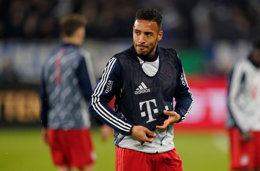Inter Milan is interested in signing Bayern Munich midfielder Corentin Tolisso on free transfer. (Photo by Jeroen Meuwsen/Soccrates/Getty Images)