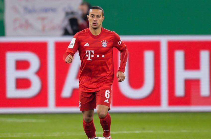 Thiago Alcantara, Bayern Munich. (Photo by ANP Sport via Getty Images)