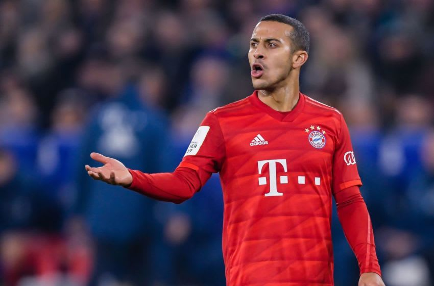 Thiago Alcantara, Bayern Munich. (Photo by ANP Sport via Getty Images)