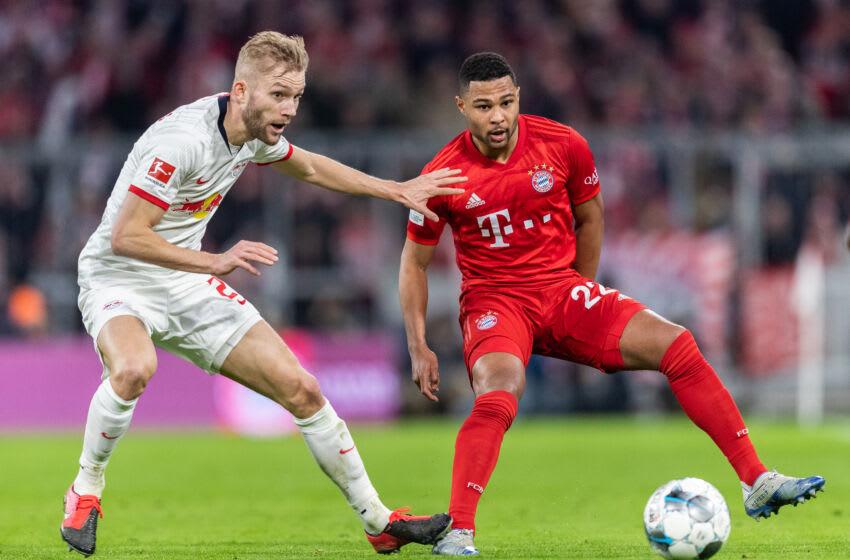 Bayern Munich held talks with RB Leipzig midfielder Konrad Laimer during summer.(Photo by Boris Streubel/Getty Images)