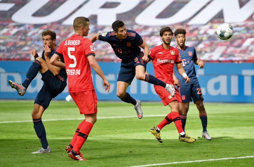 Robert Lewandowski, Bayern Munich.( (Photo by MATTHIAS HANGST/POOL/AFP via Getty Images)