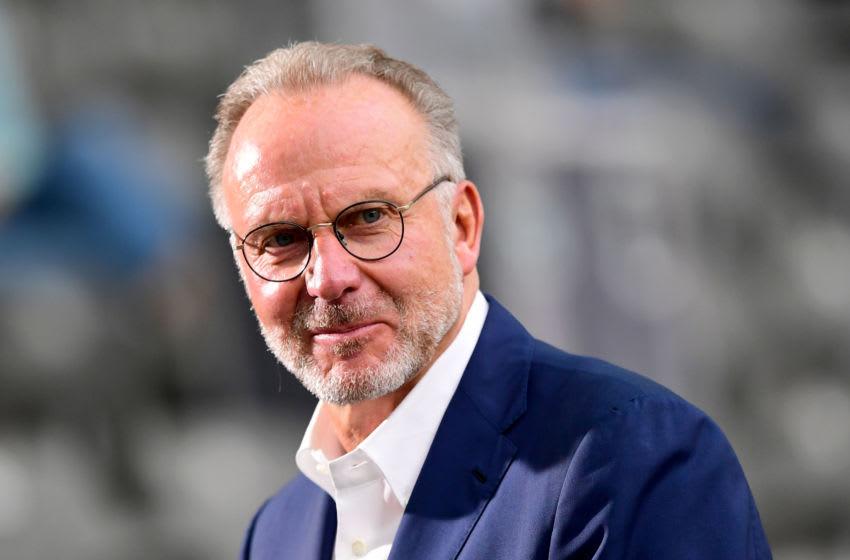 Karl-Heinz Rummenigge, Chairman of FC Bayern Munich. (Photo by ROBERT MICHAEL/POOL/AFP via Getty Images)