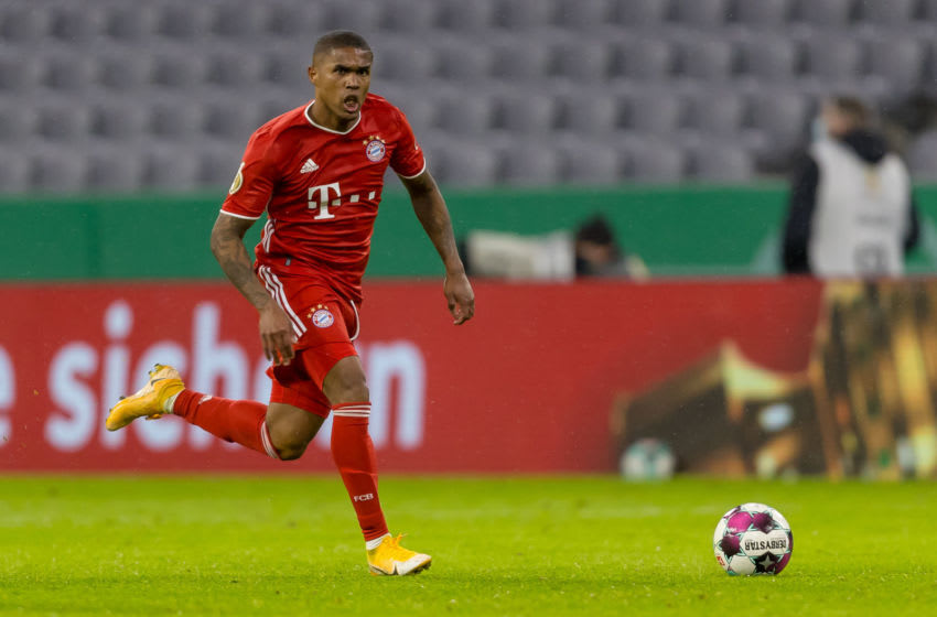 Douglas Costa in action for FC Bayern Munich. (Photo by Roland Krivec/DeFodi Images via Getty Images)